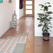 Application of electric heating in living spaces