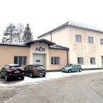 Nově zrekonstruovaná budova výroby AES v Jeseníku