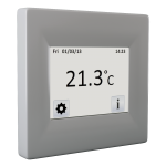 Programmable touch-screen thermostat FENIX TFT